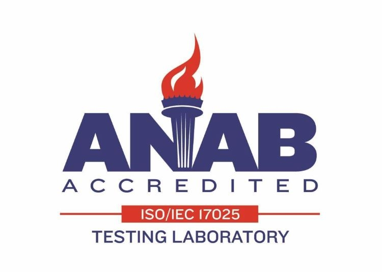 ANAB Accredited Test Lab