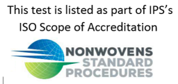 NWSP -ISO Accredited Test Procedure